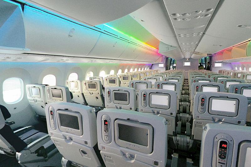 Boeing 787 dreamliner o avi o do futuro futuros pilotos for Interior 787 avianca