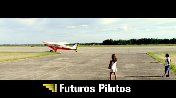 Primeiro contato com aviação.
